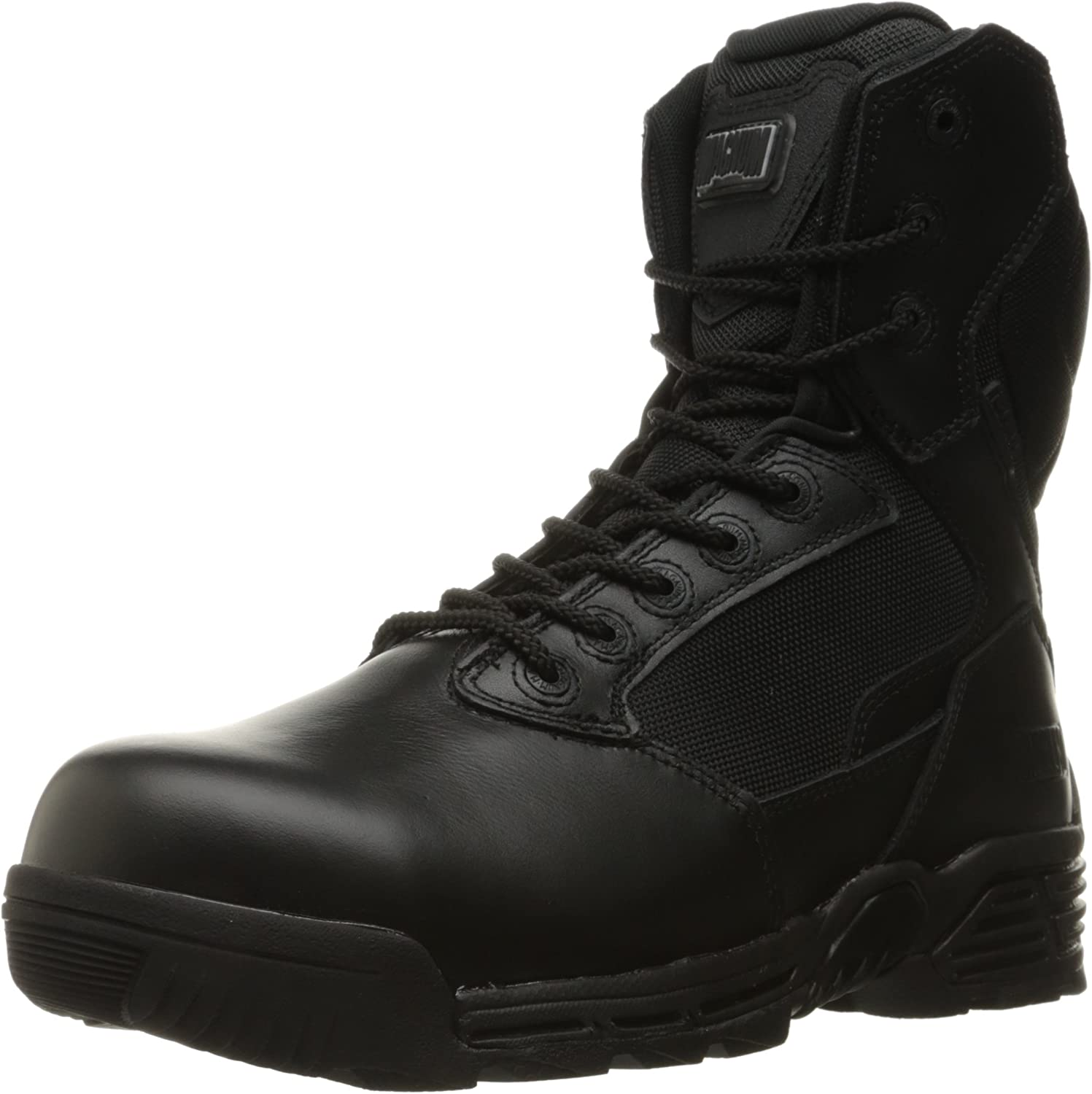 Magnum Men's Stealth Force 8  Side Zip Waterproof Comp Toe I Shield Military and Tactical Boot