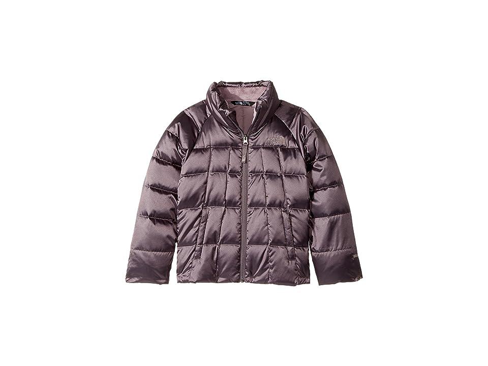 The North Face Kids Aconcagua Down Jacket (Little Kids/Big Kids) (Rabbit Grey (Prior Season)) Girl