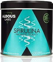 Espirulina Ecológica Premium para 9 Meses   500 comprimidos de 500mg con 99% BIO Spirulina   Vegano - Saciante - DETOX - Proteína Vegetal   Libre de Plástico   Certificación Ecológica Oficial