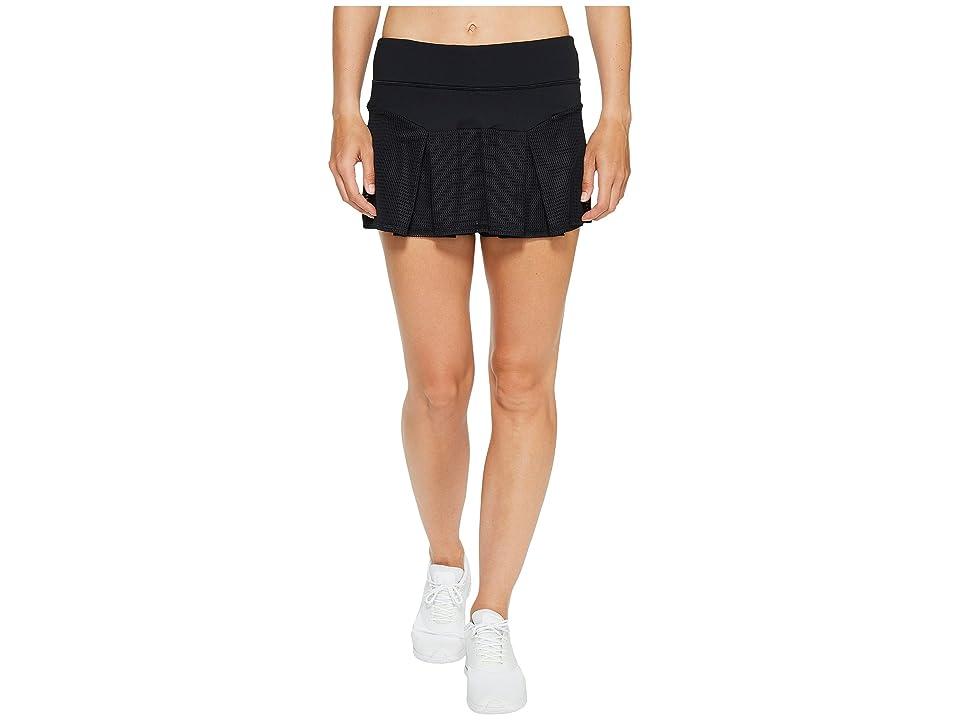 Trina Turk Set Match Box Pleat Skirt (Black) Women