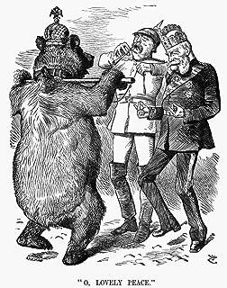 Prince Otto Von Bismarck N(1815-1898) Prince Otto Von Bismarck-Schonhausen Prussian Statesman O Lovely Peace English Carto...