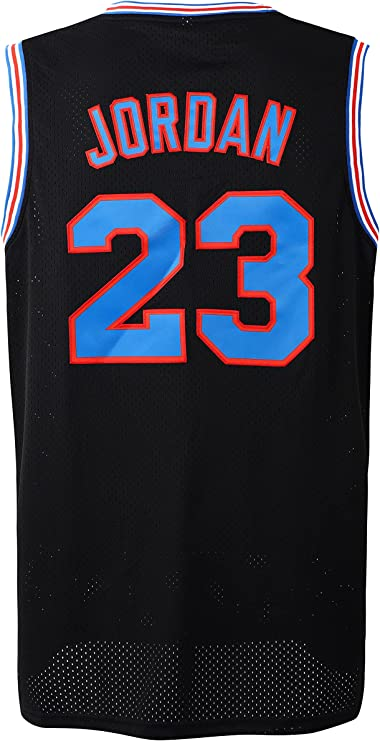 Men's Basketball Jersey 90's Unisex Hip Hop Stitched Clothing for Party 23 Space Movie Jersey for Halloween X-max