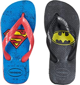 Havaianas Kids Heroes DC Flip-Flop (Toddler/Little Kid/Big Kid)