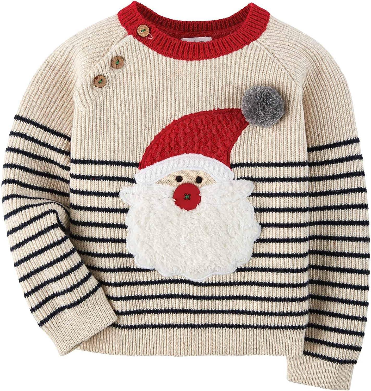 Mud Pie Baby Boy Santa Sweater