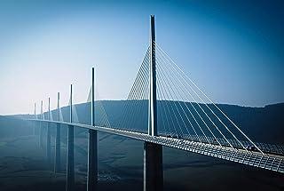 A1 |ミヨー橋フランスのポスターアートプリント60×90センチメートル180gsm橋ギフト#8903