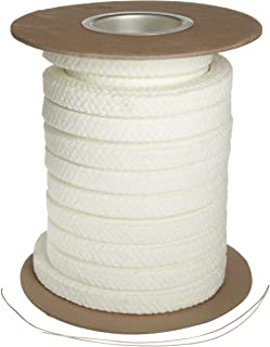 Palmetto 1347AF Series Synthetic with PTFE & Lube Compression Packing Seal, White, 3/8
