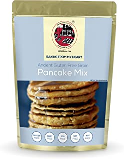 Baking From My Heart Gluten Free Pancake Mix I Dairy, Egg, Soy & Nut Free I Certified Gluten Free I Tasty and Healthy, Siz...