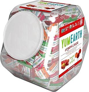 YumEarth 棒棒糖,什锦口味,30盎司(850克)/罐
