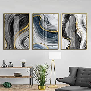Print On Canvas Modern Abstract Painting Canvas Wall Art Luxury Posters and Prints for Living Room Home Decor artwork Pict...