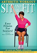 Sit and Be Fit Arthritis Award-Winning Chair Exercise Workout For Seniors-Stretching, Aerobics, Strength Training, and Balance. Improve flexibility, muscle and bone strength, circulation, heart health, and stability