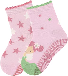 Flying Floor-whizzers Air Calcetines, Rosa (Rosa 702), 18-24 meses (Talla del fabricante: 24) para Bebés
