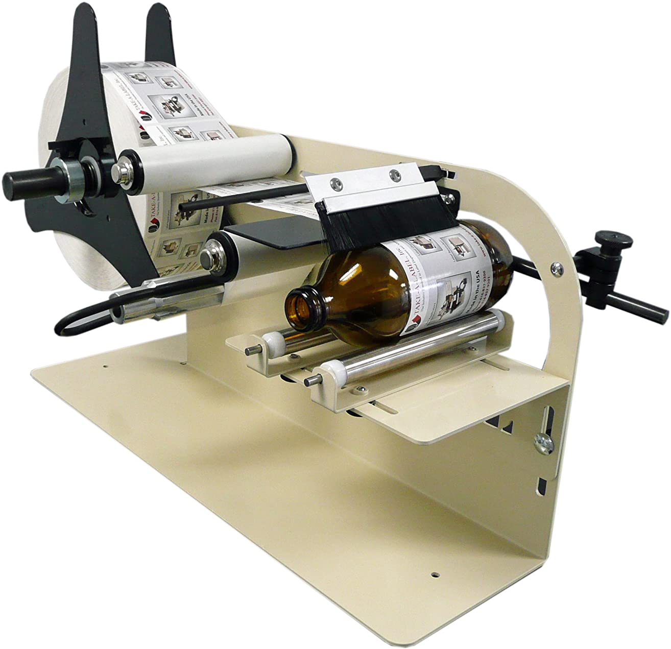 Take-a-Label 11000 TAL-1100MR Manual Round Product Label Applicator