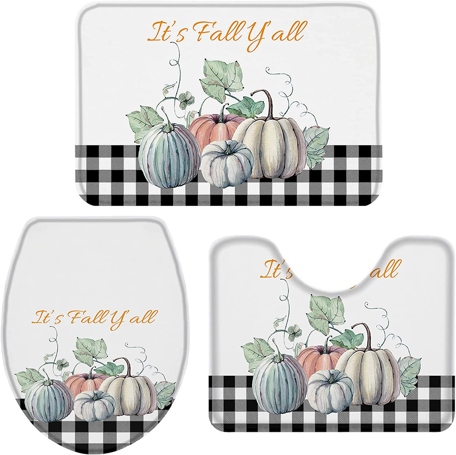 ZOE GARDEN Bathroom Cheap mail order specialty store Rugs and Mats Autumn Thanks Small gift Sets Fall