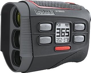 Bushnell Unisex-Adult Bushnell Hybrid Golf Laser + GPS 201835, Black, Large