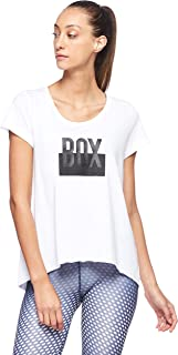BodyTalk Women's BOXINGW T-Shirt, White, Medium