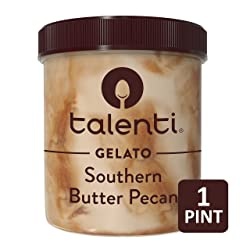 Talenti Ice Cream, Southern Butter Pecan 1 pint (Frozen)