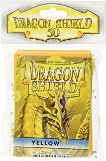 Dragon Shield Sleeves: 50Ct Card Game, Yellow