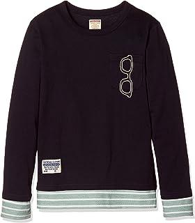 [マザウェイズ] F.CHIPS ポケット付 重ね着風 長袖Tシャツ ボーイズ 6043C 全4柄