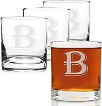 Best monogrammed whiskey glass set Reviews