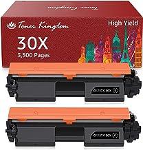 Toner Kingdom Compatible Toner Cartridge Replacement for HP 230X CF230X 230A CF230A for HP Laserjet Pro MFP M203dw M227fdw...
