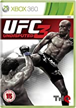 UFC Undisputed 3 by THQ , Xbox 360