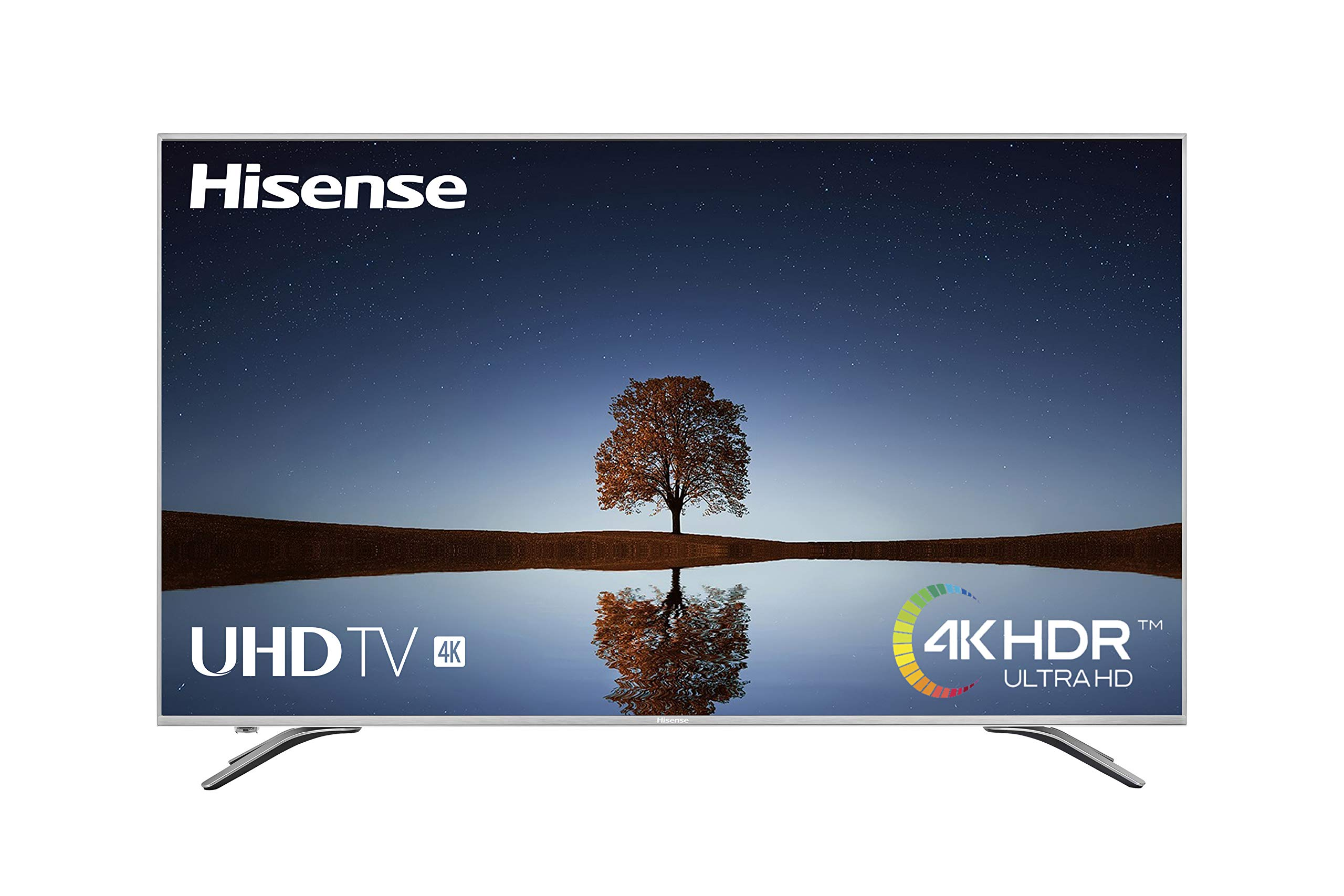 Hisense H65A6500, Smart TV VIDAA U, Diseño Metálico, Modo Deportes, 4K Ultra HD, HDR, Precision Color, Super Contraste, Remote, WIFI Ethernet USB, 65