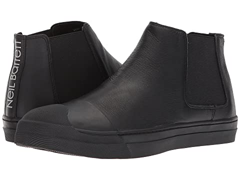 Neil Barrett Soft Leather Skater High Top Sneaker