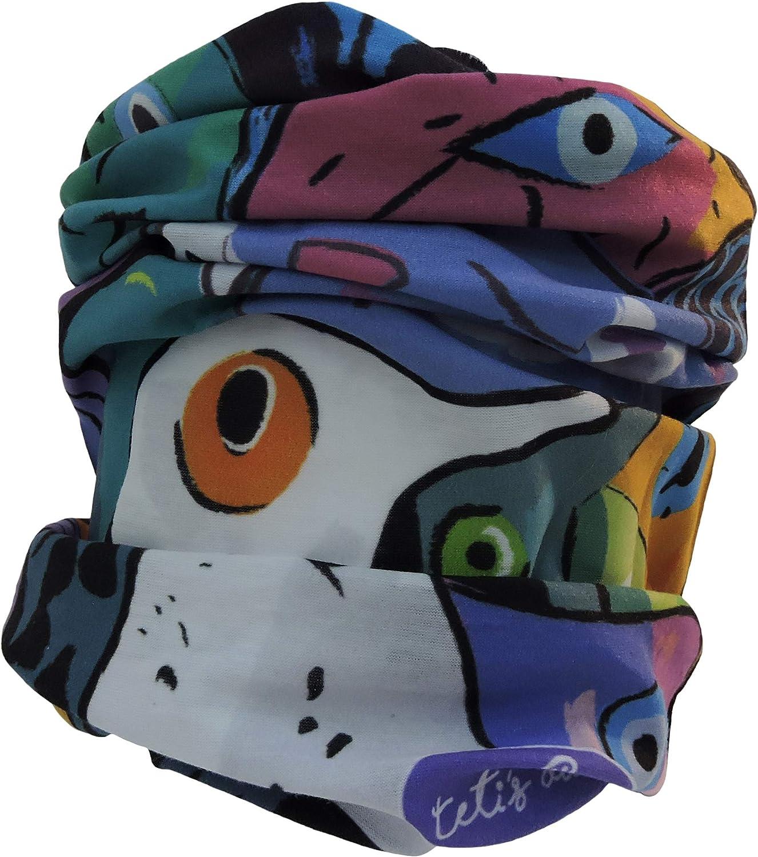 cap TETIS DUCKS cagoule thermique de ski bandeau t/ête multi-usage /écharpe cou p/êche Bandana col multifonction pack de 4 culottes de cou