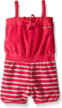 Juicy Couture Girls' Romper with Loop Terry Spaghetti Straps