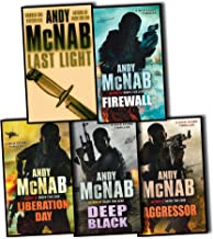 Nick Stone Thriller Collection Andy McNab 5 Books Set (Aggressor, Liberation Day, Last Light, Firewall, Deep Black) (Nick Stone Thriller Collection)