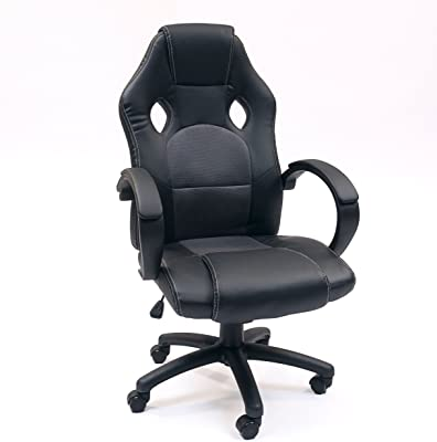 Homely Silla Gaming Mod. Gamer (Gris-Negro)