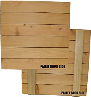 Wood Block Crafts - Rustic Wood Pallet 13.75