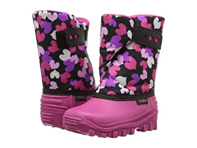 Tundra Boots Kids Teddy 4 (Toddler/Little Kid) (Fuchsia Multi) Girls Shoes