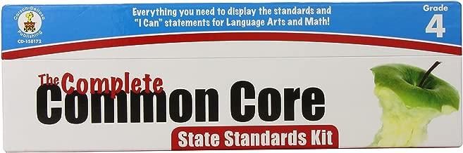 Carson Dellosa The Complete Common Core State Standards Kit Pocket Chart Cards Grade 4 (158172)