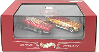 Hot Wheels 8th Annual Collectos Nationals Whip Creamer and Whip Creamer II Cased Set of 2 Cars Red Line Club Real Riders