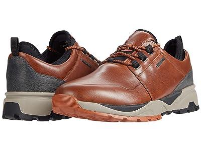 Johnston & Murphy Summit Moc Toe (Tan Full Grain Waterproof Leather) Men