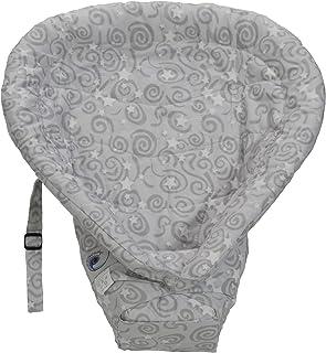 Ergobaby Original Heart 2 Heart 嬰兒內芯,銀灰色(制造商停產)
