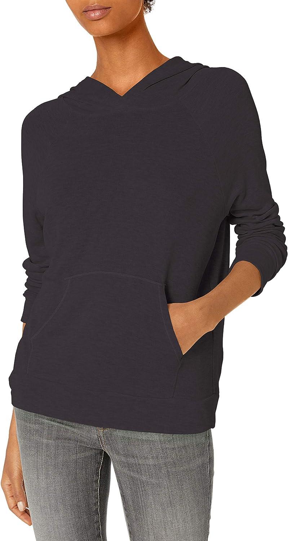 Amazon Brand - Daily Ritual Women's Sandwashed Modal Blend Popover Hooded Sweatshirt