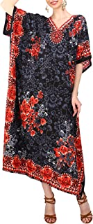 London Ladies Kaftans Kimono Maxi Style Dresses Suiting Teens to Adult Women in Regular to Plus Size
