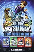 Secret Agent Jack Stalwart (Books 1-4): The Escape of the Deadly Dinosaur, The Search for the Sunken Treasure, The Mystery of the Mona Lisa, The Caper ... Secret Agent Jack Stalwart Omnibus Series)
