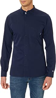 Tommy Hilfiger Erkek Günlük Gömlek Tjm Solid Twill Shirt