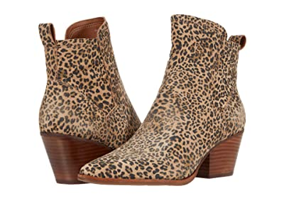 Dolce Vita Sammey (Tan/Black Dusted Leopard Suede) Women