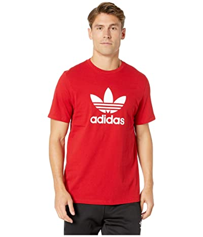 adidas Originals Trefoil Tee (Power Red) Men