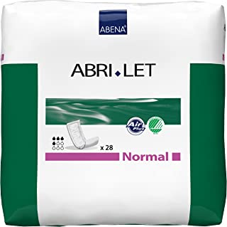 Abena Abri-Let Fluff Incontinence Pads Without Barrier, Normal, 28 Count