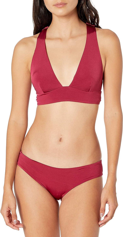 Volcom Women's Standard Simply Seamless Halter Bikini Top