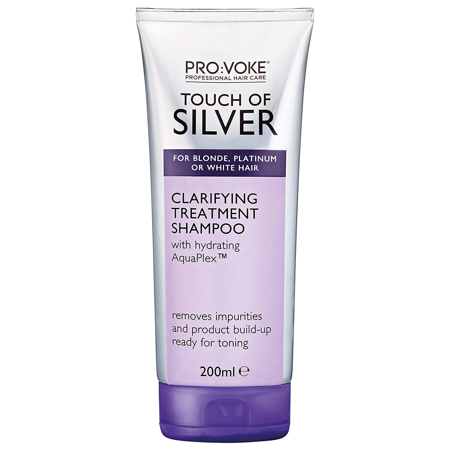PROVOKE Touch of Silver Brand Cheap Sale Venue Clarifying Blonde Shampoo for Today's only Treatment