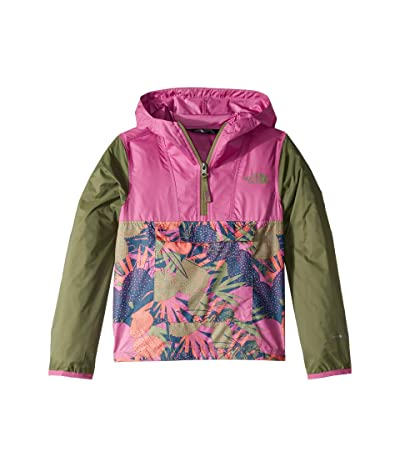 The North Face Kids Novelty Fanorak (Little Kids/Big Kids) (Four Leaf Clover/Agave Print) Girl