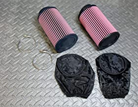 2 X New Yamaha Banshee K And N Style Air Filters Mikuni Stock Size Carbs Outerwears