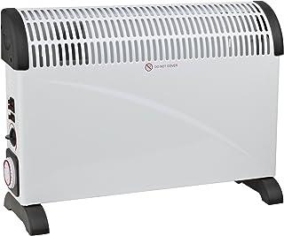 Sekom CSD2010VT Color blanco 2000W Radiador - Calefactor (Radiador, 24 h, Piso, Color blanco, Giratorio, 2000 W)