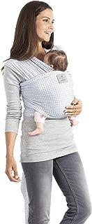Manduca Sling 5,10 m x 0,60 m Pa/ñuelo portabeb/és el/ástico con certificado GOTS para reci/én nacidos a partir del nacimiento